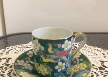 Porcelanowa filiżanka ręcznie malowana
