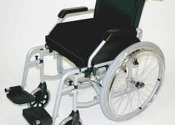 Wózek inwalidzki stalowy składany