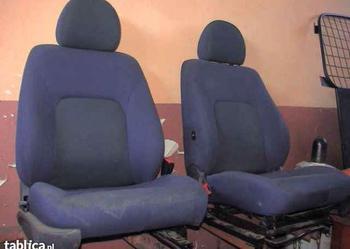 Doblo fotele  tapicerka