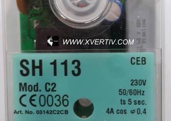 SATRONIC SH 113 Mod.C2 Automat / Sterownik palnikowy XVERTIV