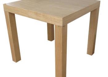 Kwadratowy dębowy stół rozkładany wymiar producent stolmit