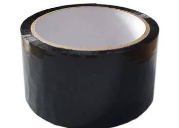 Czarna taśma pakowa