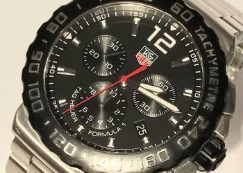 Zegarek męski TAG HEUER Formula 1 PIĘKNY komplet!