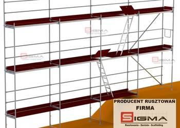 RUSZTOWANIA Systemowe od 100m2 - 50000m2 Producent Rusztowań