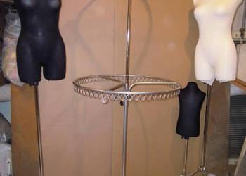 Stojak odzieżowy koło podwójne
