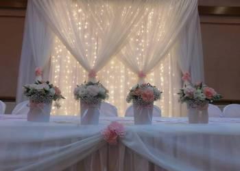 dekoracje ślubne, weselne