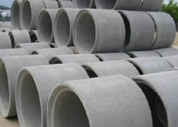 Kręgi betonowe dryny PRODUCENT studnie kregi Myszków Śląsk