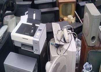 Wywóz demontaż elektroniki elektrośmieci RTV AGD PC TEL