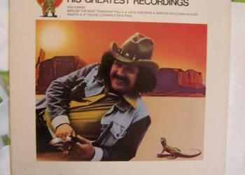 Freddy Fender – His Greatest Recordings, 1 lp