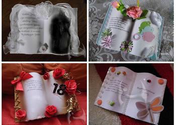 Księgi pamiątkowe na różne okazje