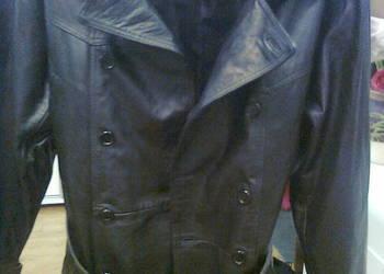 Męska nowa  skórzana  kurtka na sprzedaż  - Suwałki