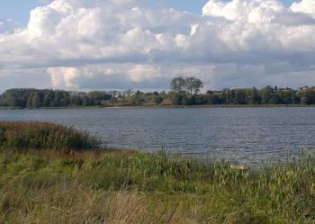Piękna działka nad jeziorem (1600m2)Jemiołowo k.Olsztynka