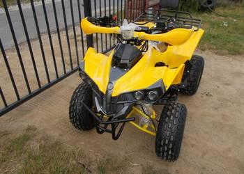 Quad BOMBARDIER XXL 125CC 110CC GERMANY yellow MOCNY koła 8'