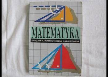 Matematyka dla klasy III LO i technikum Cegiełka, Przyjemski