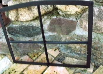 Rama okienna lustro aranżacja wnętrz, grill, altana 60x48