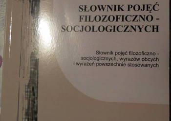 Słownik pojęć filozoficzno-socjolog - Adam Karpiński