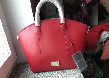 Nowa z metkami oryginalna torebka Emporio Armani czerwona na sprzedaż  Kraków