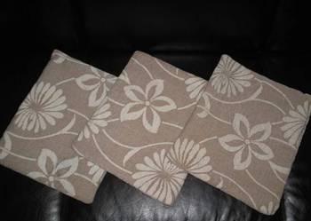 3 nowe poszewki na poduszkę