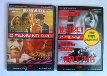 4 filmy na DVD