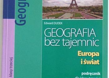 GEOGRAFIA BEZ TAJEMNIC EUROPA I ŚWIAT 3 - DUDEK