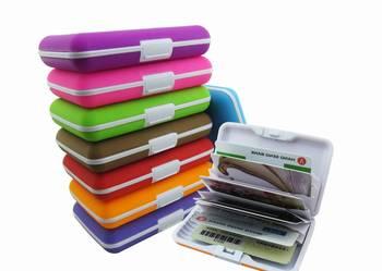 6101e32637854 SILIKONOWE etui portfel na karty kredytowe DOKUMENTY WaWa Warszawa -  Sprzedajemy.pl