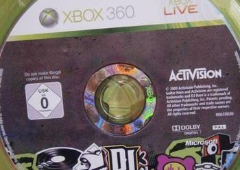 GRA XBOX 360  DJ HERO