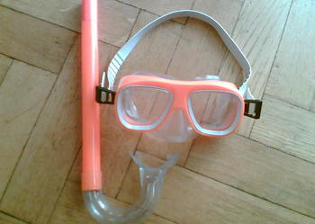 Maska do pływania + rurka