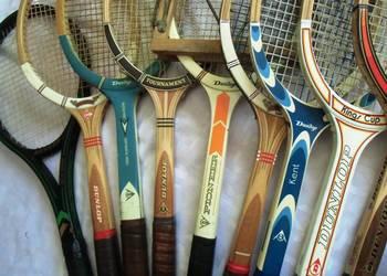 Rakiety tenisowe Vintage  DUNLOP w super stan z lat 1950/80