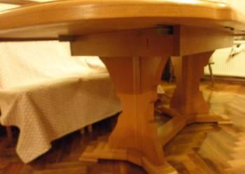Stół dębowy rozkładany