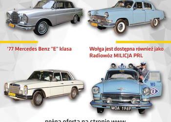 Auto do ślubu Wołga Mercedes zabytkowe prl milicja nie fiat