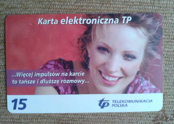 KARTA TELEFONICZNA CHIPOWA - POLSKA