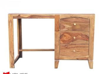 Piękne biurko z drzewa egzotycznego