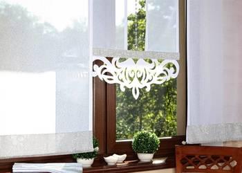 Ekrany Panele Ażury Firany Gotowe Firanki, używany na sprzedaż  Jastrzębie-Zdrój