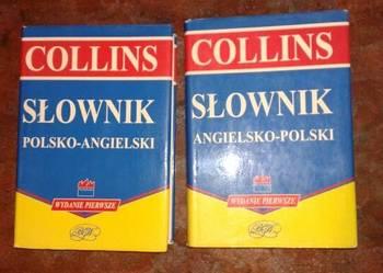 słownik angielsko-polski i polsko angielski komplet