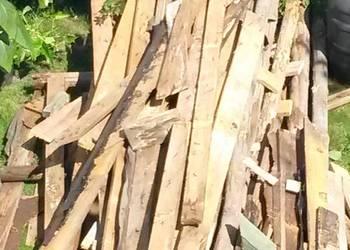 Oddam drewno z rozbiórki dachu