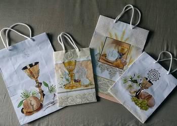 Pierwsza Komunia Święta 4 torebki na prezenty