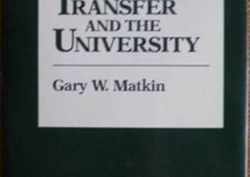 Technology Transfer and the University - po angielsku