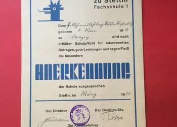 ( 581 ) Dokument niemiecki
