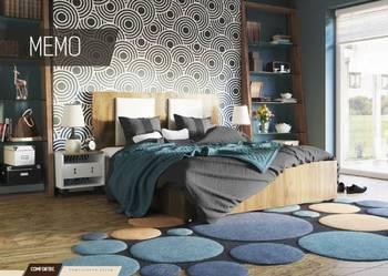 Łóżko MEMO z pojemnikiem 140x200