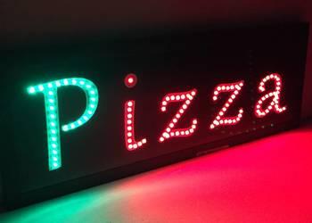 Szyld neon reklama diodowa PIZZA 71x25cm zewnętrzna NOWOŚĆ