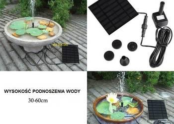 Fontanna,Pompka Solarna.pompa do oczko wodne.kaskada.solar, używany na sprzedaż  Łódź