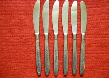 Noże 6 sztuk CCCP