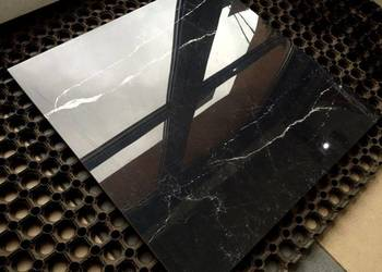 CZARNY marmur gres polerowany MAGIC BLACK 60x60 jak LUSTRO