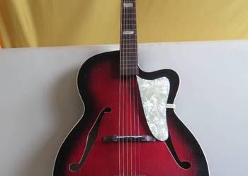 Gitara JAZZOWA vintage HOPF ARCHTOP CUTAWAY z lat 50-siątych