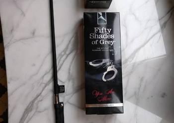 Metalowe Kajdanki oryginalne z kolekcji 50 Twarzy Greya 89zł