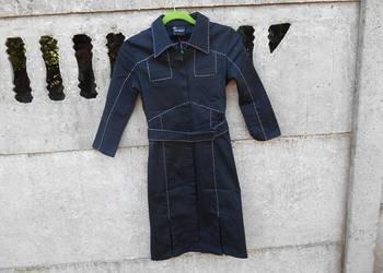 Płaszcz XS S długi Top Secret wiosna/jesień