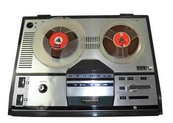 GRUNDIG TK 124 Magnetofon Szpulowy