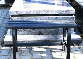 ławka cmentarna z tworzywa sztucznego
