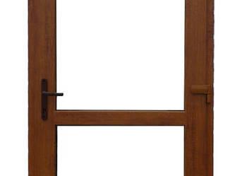 Drzwi PCV 105x210 Złoty Dąb zewnętrzne tarasowe + GRATIS!!!