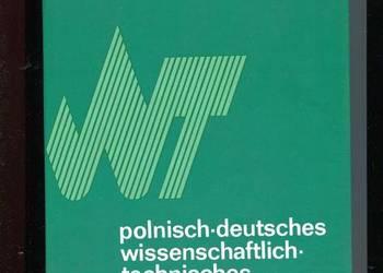 Słownik naukowo techniczny polsko niemiecki
